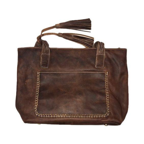 Tote Bag with Fringe