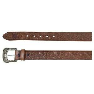 Hooey Men's Leather Belt - Pecan