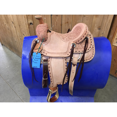 "Irvine 13"" JR  Association Ranch Saddle"