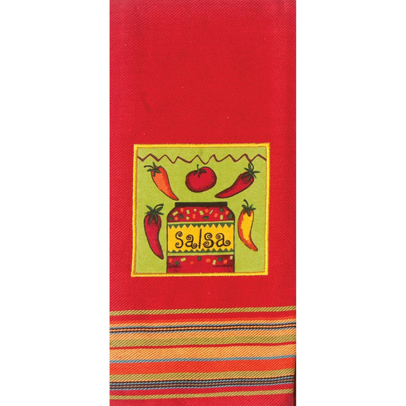 KD Salsa Applique Tea Towel