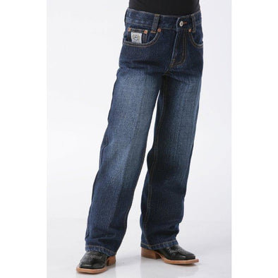 Cinch Boy's White Label Dark Jean - Regular - Irvines Saddles