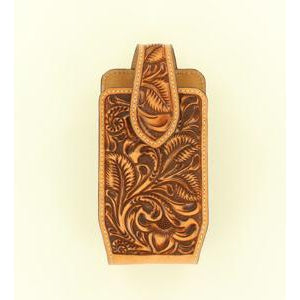 Cell Phone Case Floral Embossing and Swivel Clip