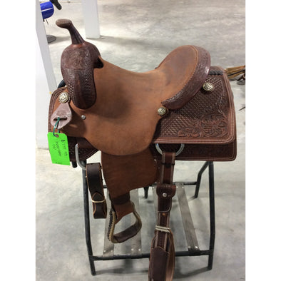 "Irvine  13.5"" Cutting Saddle"