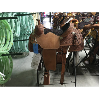 "Billy Cook 14 1/2"" Howard Council Tree Rope Saddle"