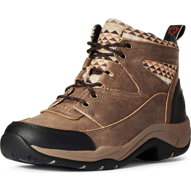 Ariat Womens Terrain Brown w/Aztec