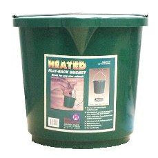 5 Gallon Heated Flat-Back Bucket - Irvines Saddles