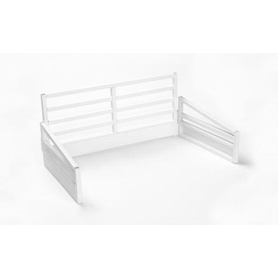 Show Cattle Stall Display White
