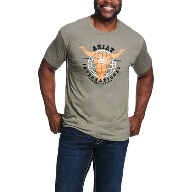 Ariat Mens INTN 93 SS TShirt Olive Heather