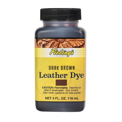 Fiebings Leather Dye Dark Brown