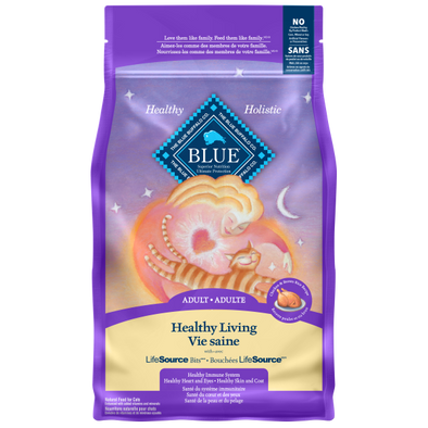 Blue Cat Healthy Living Adult Chicken & Brown Rice  7lb