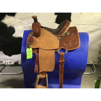 "Irvine 13"" All Round Saddle"