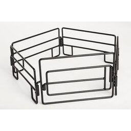 Little Buster Toys 5 Piece Panel/Gate Combo Black