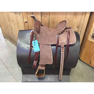 "Irvine Kids 13"" Barrel Saddle"