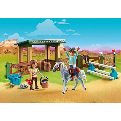 Playmobil Riding Arena with Lucky & Javier
