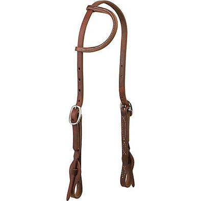 Weaver Leather Working Tack Quick Change Sliding Ear Headstall, 5/8""