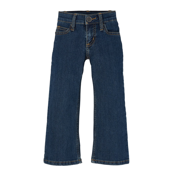 Wrangler Premium Patch Bootcut Jeans - Girls