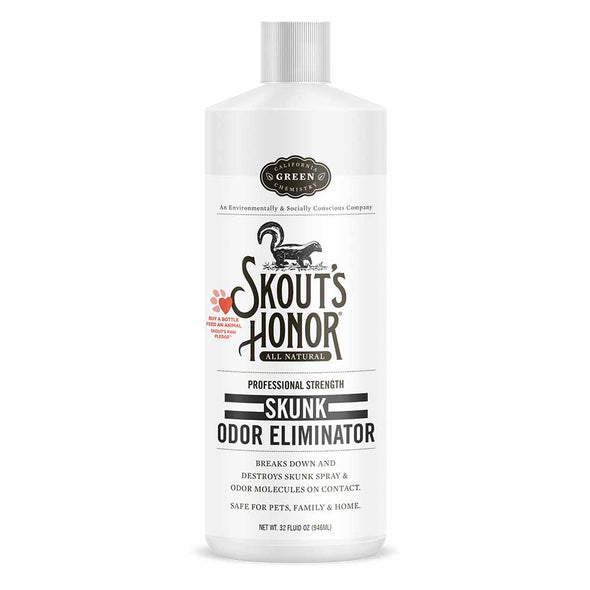 Skouts Skunk Odor Eliminator  32 oz