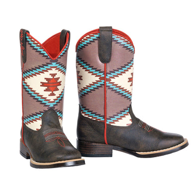 ***Blazin Roxx Youth Emily Cowboy Boot - Brown