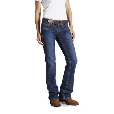 Ariat Women's FR Mid Rise Jeans