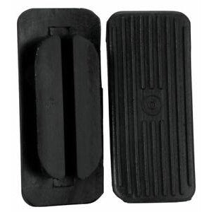 Weaver Replacement Rubber Treads for Aluminum Barrel Stirrups - Black