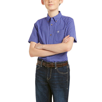 Ariat Boys Pro Patton Classic SS Shirt