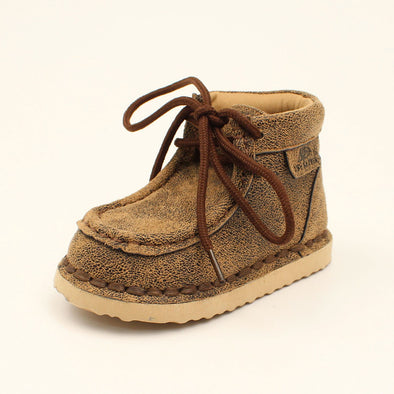 Twister Toddler Aiden Casual Shoe - Brown