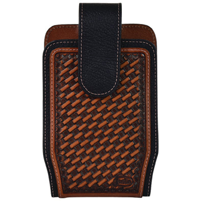Justin Cell Phone Holster Basketweave