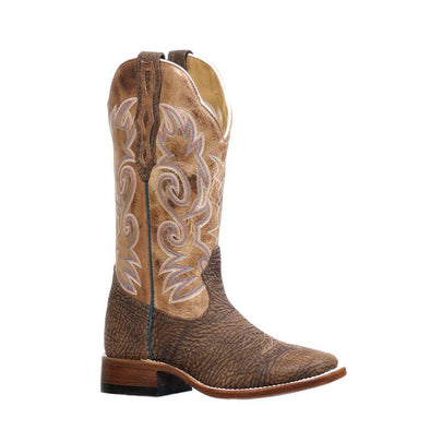 Boulet Ladies Boot w/ printed leather