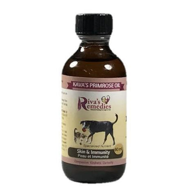 Riva's Remedies Dog & Cat:Kava's Primrose Oil (60ml)