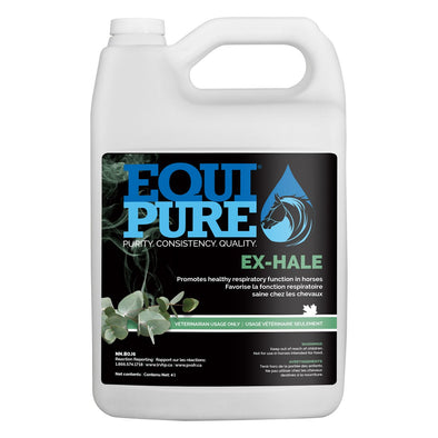 EquiPure Ex-Hale Promotes Healthy Respiratory Function in Horses 4L