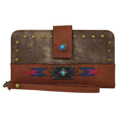 Catchfly Cora Bifold Wallet Weathered Brown