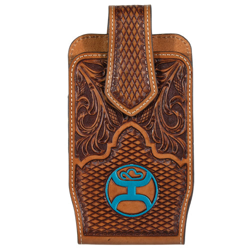 Hooey Cell Phone Case Tooled Turquoise