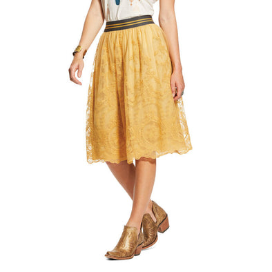 Ariat Women's Stevie Skirt - Gold Dust