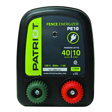 Patriot pe10 Fence Charger (ac)