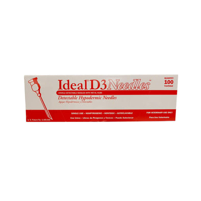 Ideal D3 Needle 18x1 1/2 100pk