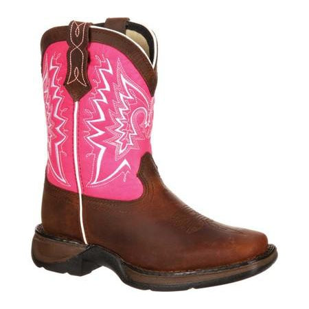 Lil Durango Big Kid Let Love Fly Western Boot