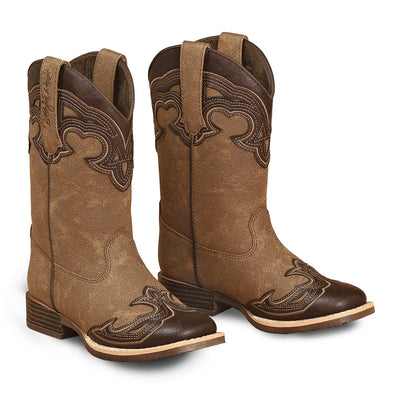 ***Blazin Roxx Youth Samantha Cowboy Boot - Brown