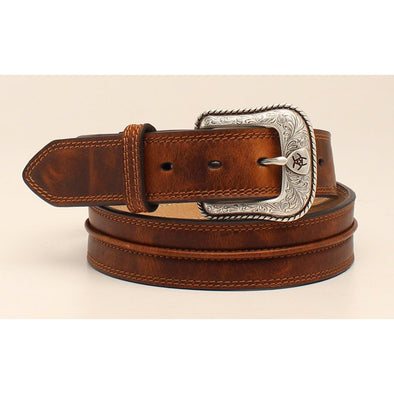 Ariat Men's Western Belt - Medium Brown