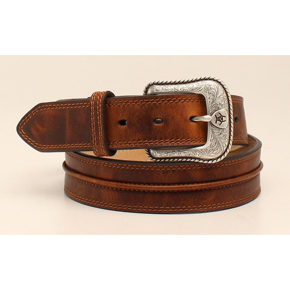Ariat Men's Western Belt - Shield Logo