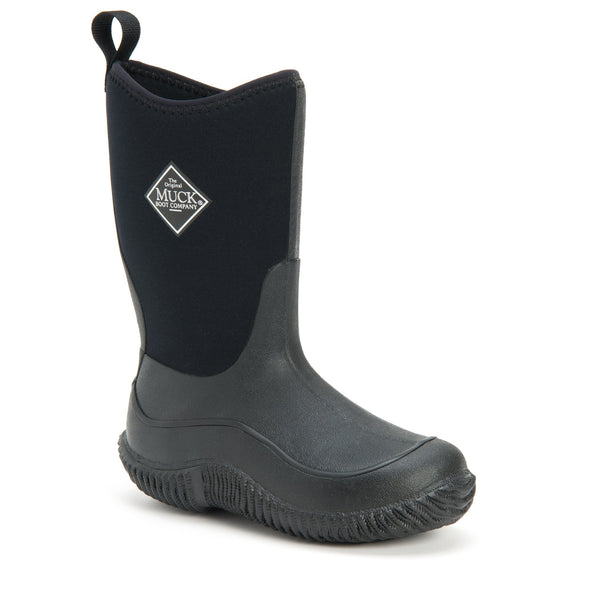 Muck Boots Kid's Hale Solid - Black