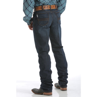 Cinch Men's Silver Label Jean - Dark Stonewash