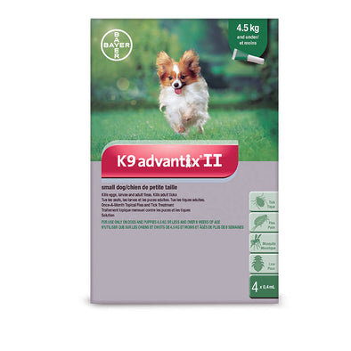 K9 Advantix II Dog 4 Doses