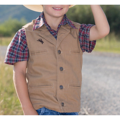 Wyoming Traders Youth Bronco Vest