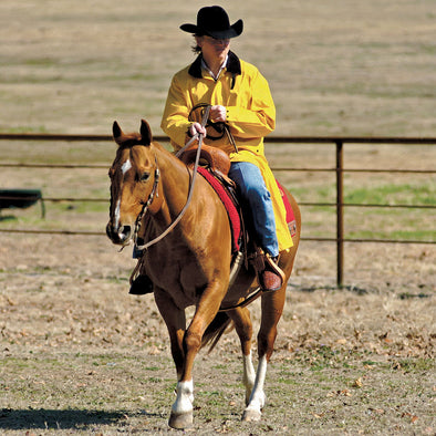 Saddle Slicker Adult - Yellow
