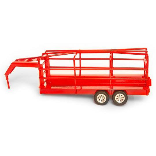Little Buster Gooseneck Ranch Trailer Red