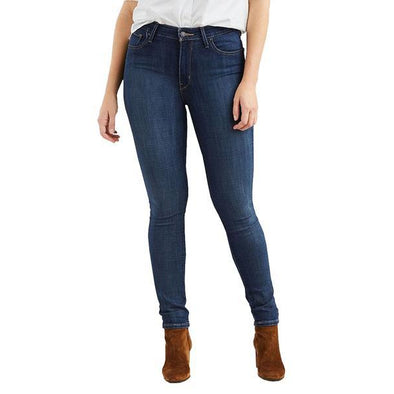 Levi High Rise Skinny Blue Story