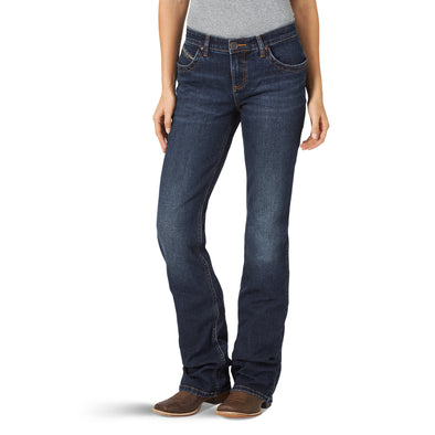 Wrangler Womens Ultimate Riding Q-Baby Boot Cut Jeans