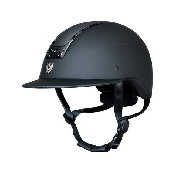 Royal Helmet, Wide Brim, Matte Black