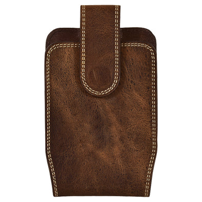 Justin Cell Phone Holster Double Stitched