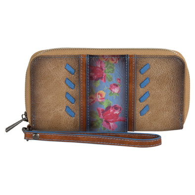 Catchfly Julia Wallet Flower w/Blue
